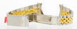 Rolex 17mm Jubiléband Stahl und 18kt Gelbgold Ref. 63113