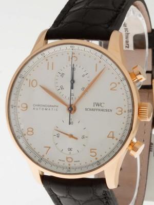 IWC Schaffhausen Portugieser Chronograph Roségold Ref.IW3714-002