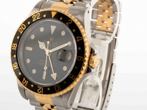Rolex GMT-Master II Stahl/Gold Ref.16713 Original Box / Papiere EU 1998