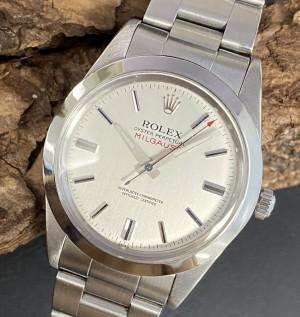 Rolex Oyster Perpetual Milgauss Rolex Service 2014 Ref. 1019