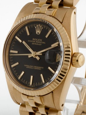 Rolex Datejust Medium 18kt Gelbgold Ref. 6827