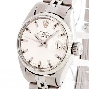 Rolex Oyster Perpetual Date Lady Edelstahl Ref. 6618