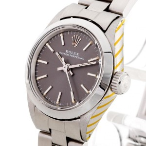 Rolex Oyster Perpetual Lady Edelstahl Ref. 6617