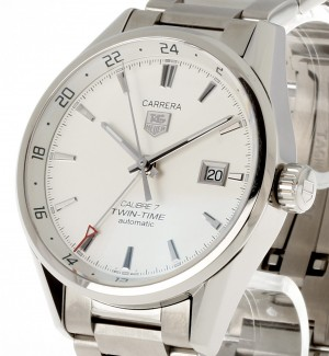 TAG Heuer Carrera Calibre 7 Twin Time Ref.WAR2011.BA0723