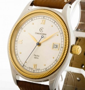 Chronoswiss Pacific Automatik Stahl/Gold Ref.CH2814