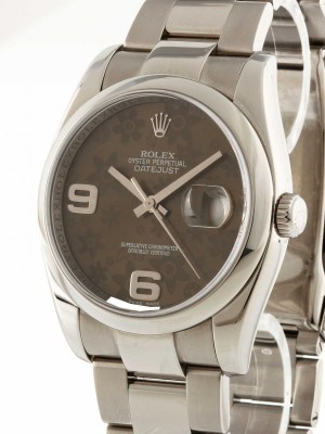 Rolex Oyster Perpetual Datejust Edelstahl Ref. 116200