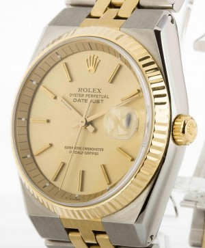 Rolex Oyster Perpetual Datejust 36 mm self-winding steel/gold Ref. 1630