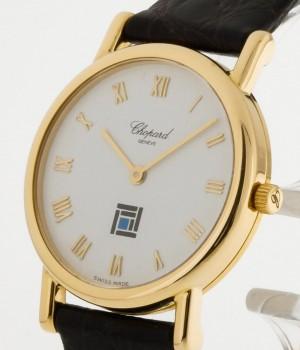 Chopard Classique Vintage Gelbgold an Lederband Ref.12/7387