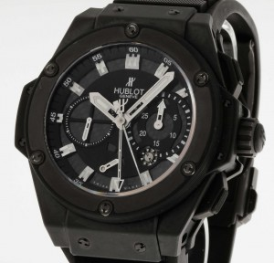 Hublot Big Bang Black Magic King Power Split Second Limited Edition Ref.709.CI.1770.RX