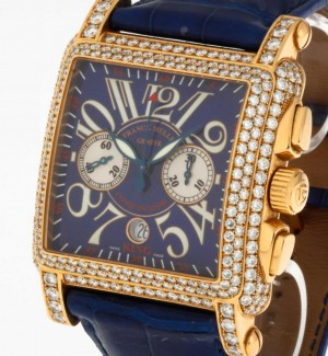 Franck Muller Master of Complications King Conquistador Cortez self-winding 18ct rosegold with brilliants ref.10000K CC