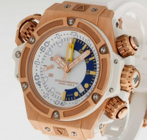 Hublot King Power Oceanographic 1000 48mm Roségold an Kautschukband Ref.732.OE.2180.RW