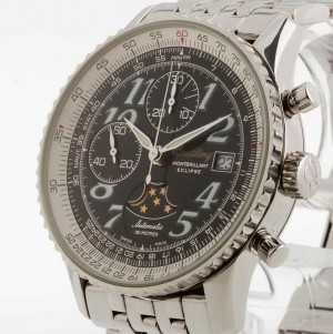 Breitling Navitimer Montbrillant Eclipse Edition Speciale Chronograph Stahl Ref. A43030