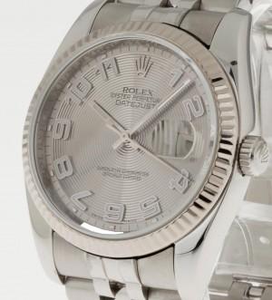 Rolex Datejust 36mm Stahl an Jubileeband Ref.116234