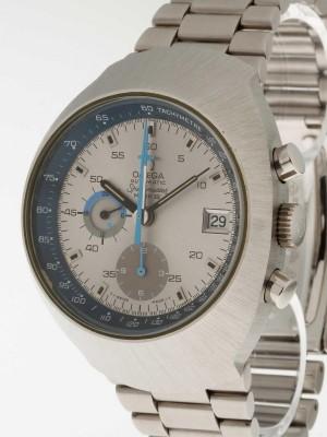 Omega Speedmaster Mark III grau/blau Chrono Ref. 176.002