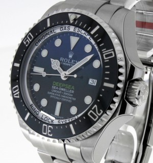 Rolex Oyster Perpetual Deep Blue Ref. 116660 aus 2016