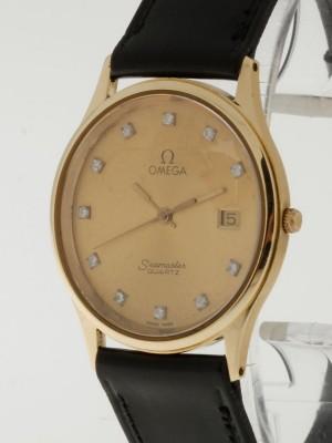 Omega Seamaster Quartz Gold Vintage