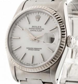 Rolex Datejust 36mm Weißgoldlünette  Ref.16234