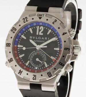 Bvlgari Diagono mit box und Uhrenpass/Echtheitszertifikat Ref.GMT40S