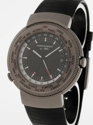 Prosche Design by IWC Titan World Timer NOS Ref. 3821 / 3822