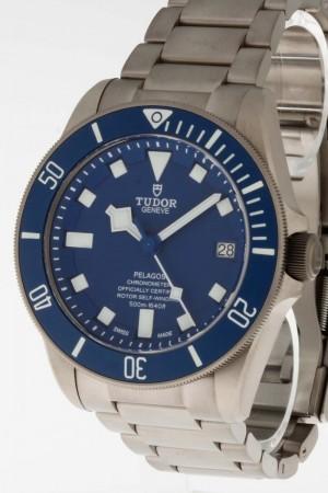 Tudor Pelagos Blau Titan Box/Papiere Ref. 25600TB