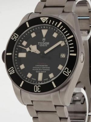 Tudor Pelagos lefthand schwarz Titan Box/Papiere Ref. 25610NL