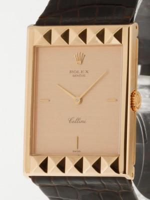 Rolex Cellini (Pyramide) 18Kt. sehr rare Ref.5078