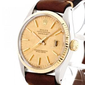 Rolex Oyster Perpetual Datejust Edelstahl/18 K Gelbgold Ref. 16013