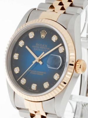 Rolex Oyster Perpetual Datejust Stahl/ Gold NOS ZustandRef.16233