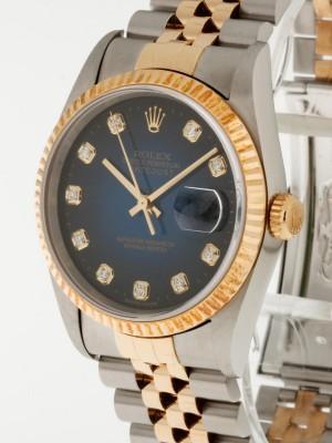 Rolex Oyster Perpetual Datejust Stahl/ Gold am Jubiléband Ref.16233