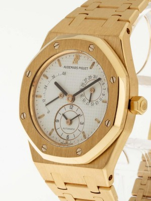 Audemars Piguet Royal Oak Dual Time Gelbgold Ref. 25730BA.OO.0789BA.06