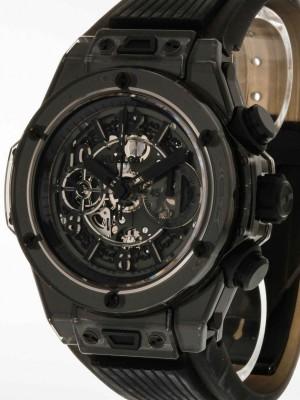 Hublot Big Bang Unico All Black Sapphire Limited Edition Ref.411.JB.4901.RT