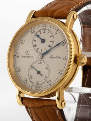 Chronoswiss Regulateur Gelbgold Handaufzug Ref.CH6321