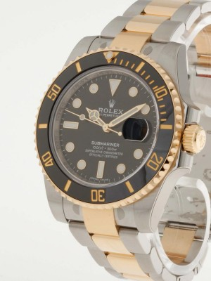 Rolex Oyster Perpetual Submariner Date Edelstahl/Gold Ref. 116613LN