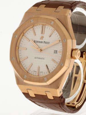 Audemars Piguet Royal Oak Roségold an Krokolederband Ref. 15400OR.OO.D088CR.01