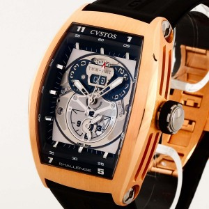 Cvstos Challenge Twin-Time GMT Automatik Rosegold Ref. 263R6