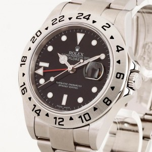 Rolex Oyster Perpetual Date Explorer II Stahl Fullset Ref. 16570