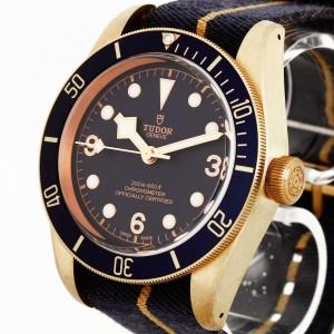 Tudor Heritage Black Bay Blue Bronze Bucherer Edition Fullset Ref. 79250BB