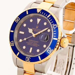 Rolex Oyster Perpetual Submariner Stahl/Gold Ref. 16613