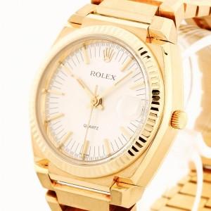 Rolex Oysterquartz Texano 18Kt. Gold Limited Edition Nr. 840 von 1000 Ref. 5100
