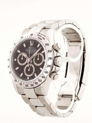 Rolex Oyster Perpetual Daytona Cosmograph Stahl Full Set Ref. 116520 LC100