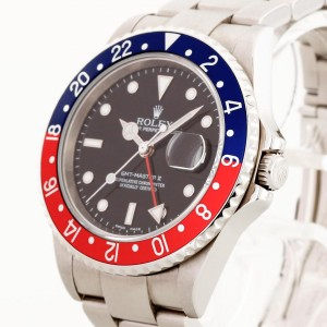 Rolex Oyster Perpetual GMT-Master II Edelstahl Ref. 16710 LC100
