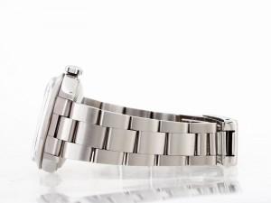 Rolex Oyster Perpetual Date Edelstahl mit weißem Zifferblatt Ref. 15000