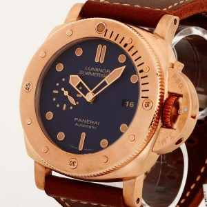 Panerai Luminor Submersible Bronzo 1950 Ref. PAM00671 OP7106 ltd. Edition