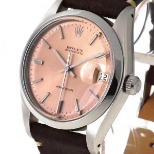 Rolex Oysterdate Precision vintage Lederband Ref. 6694 aus 1978