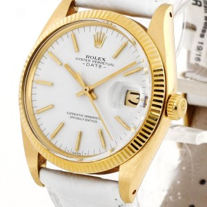 Rolex Oyster Perpetual Date 18kt Gelbgold Ref. 1500
