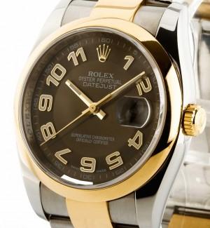 Rolex Datejust 36 mm Stahl/Gold Ref.116203