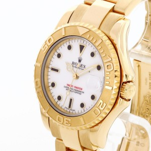 Rolex Oyster Perpetual Yacht Master 18 K Gelbgold Ref. 68628