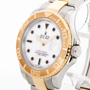 Rolex Oyster Perpetual Yacht-Master Edelstahl Ref. 16623 LC100