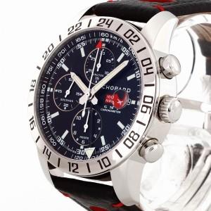 Chopard Mille Miglia GMT Chronograph Edelstahl an Lederband Ref. 8992