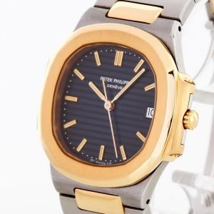 Patek Philippe Nautilus 18 k yellow gold/stainless steel Ref. 3900/001